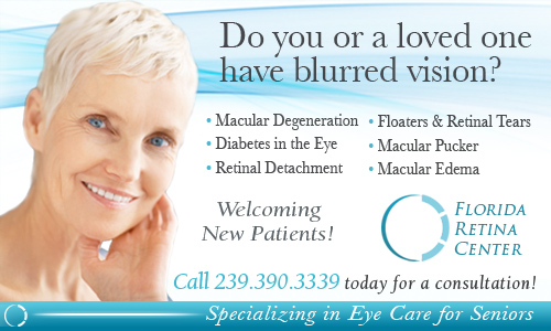 Retina Symptoms, Retinal Disorders and Treatments and Surgeries near Naples FL